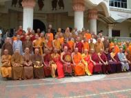Asisbiz Venerable Dr K Sri Dhammananda Nayaka Maha Thera 82 Birthday Mar 2001 16
