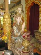 Asisbiz Dhammikarama Burmese Temple main Buddhas Mar 2001 03