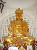 Asisbiz Penang Ke Lok Tempel Ornate Buddhas Mar 2001 02