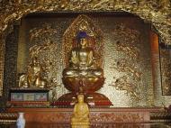 Asisbiz Penang Ke Lok Tempel Ornate Buddhas Mar 2001 10