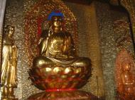 Asisbiz Penang Ke Lok Tempel Ornate Buddhas Mar 2001 12