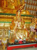 Asisbiz Penang Ke Lok Tempel Ornate Buddhas Mar 2001 18