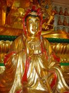 Asisbiz Penang Ke Lok Tempel Ornate Buddhas Mar 2001 20