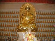 Asisbiz Penang Ke Lok Tempel Ornate Buddhas Mar 2001 22