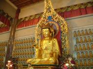 Asisbiz Penang Ke Lok Tempel Ornate Buddhas Mar 2001 23