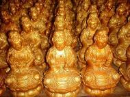 Asisbiz Penang Ke Lok Tempel Ornate Buddhas Mar 2001 27