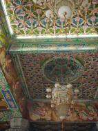 Asisbiz Penang Ke Lok Tempel ceiling paintings Mar 2001 01