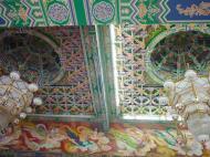 Asisbiz Penang Ke Lok Tempel ceiling paintings Mar 2001 02