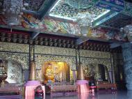 Asisbiz Penang Ke Lok Tempel ceiling paintings Mar 2001 03