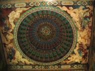 Asisbiz Penang Ke Lok Tempel ceiling paintings Mar 2001 04