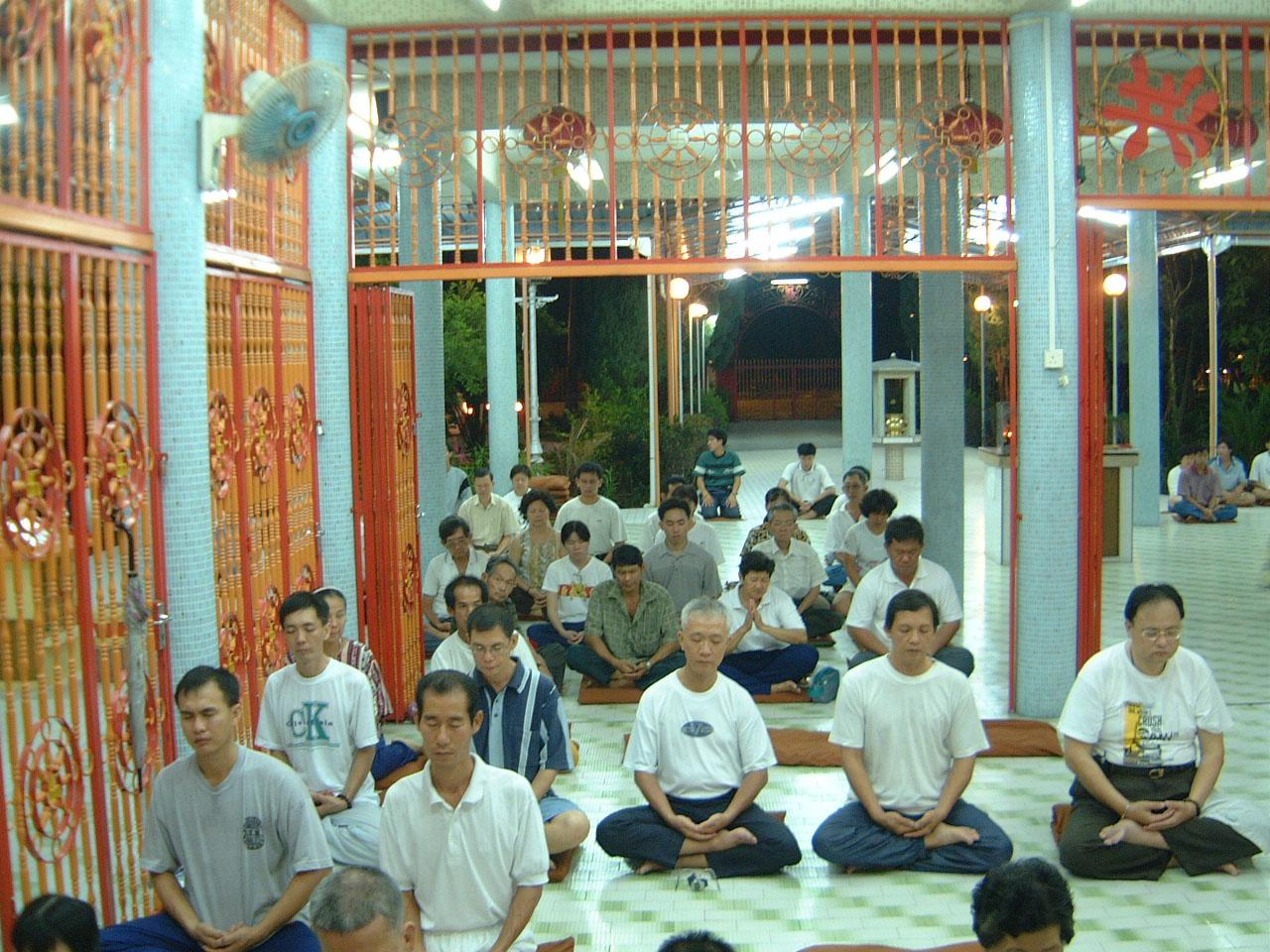 Penang Chinese Monastery Head Monk dharma talk 2001 02