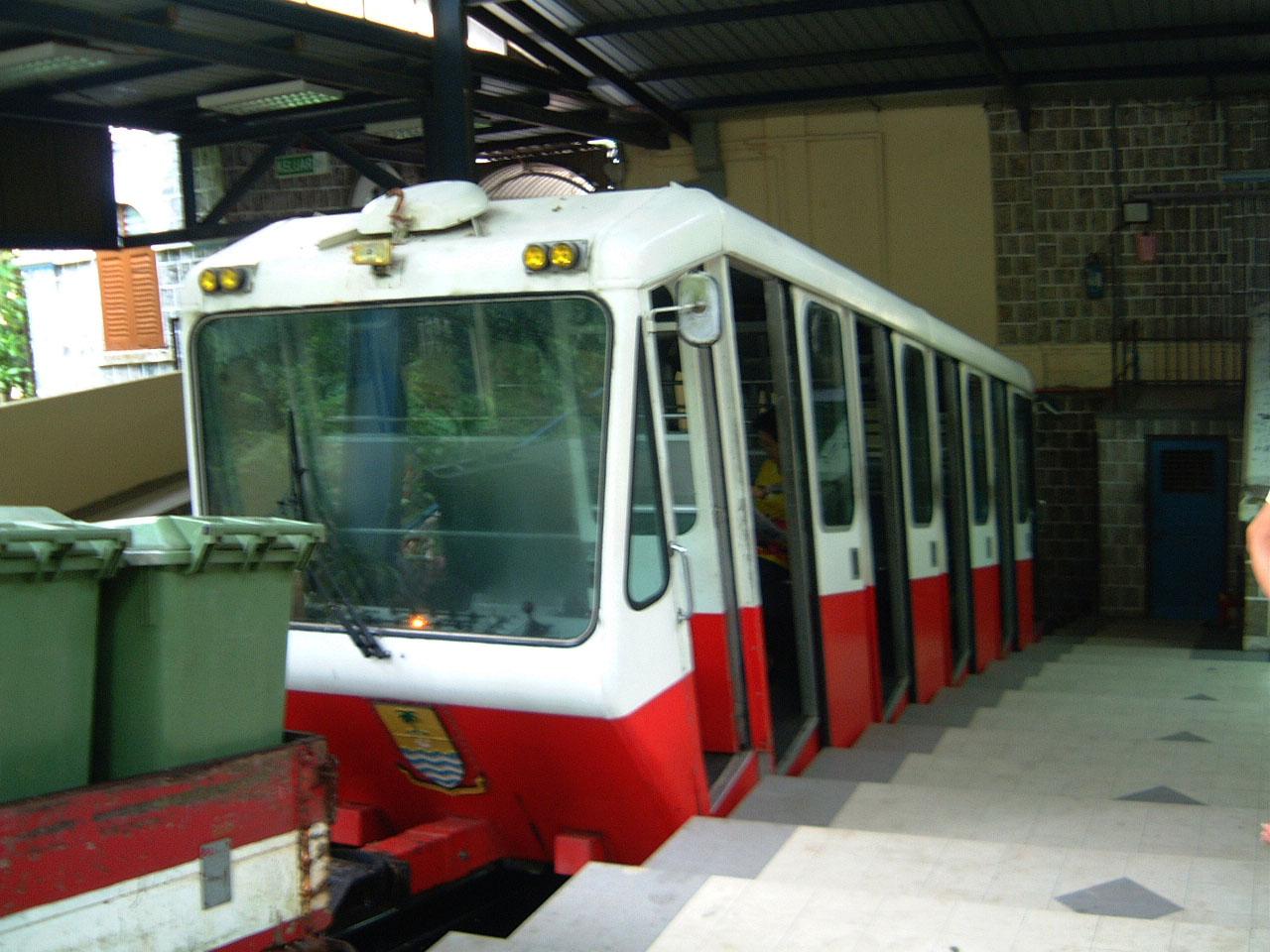 Penang Hill Bukit Bendera Railway Base station Mar 2001 02