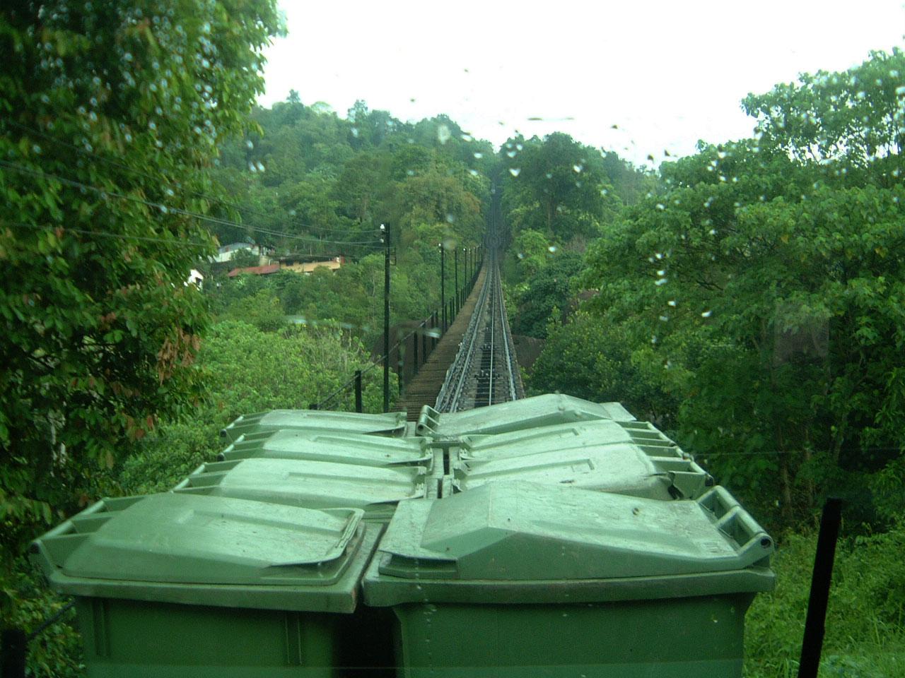Penang Hill Bukit Bendera Railway Mar 2001 01