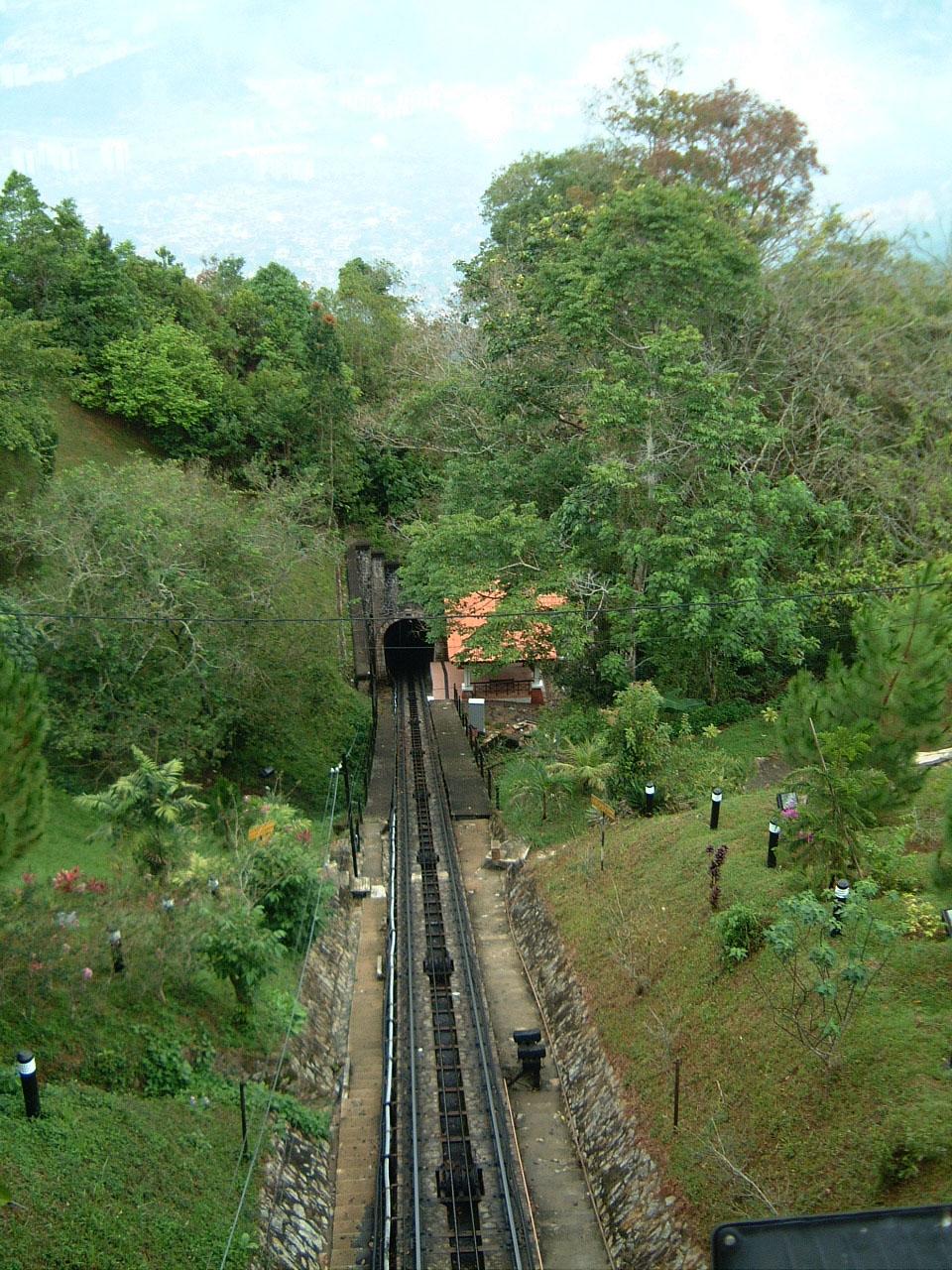 Penang Hill Bukit Bendera Railway Mar 2001 02