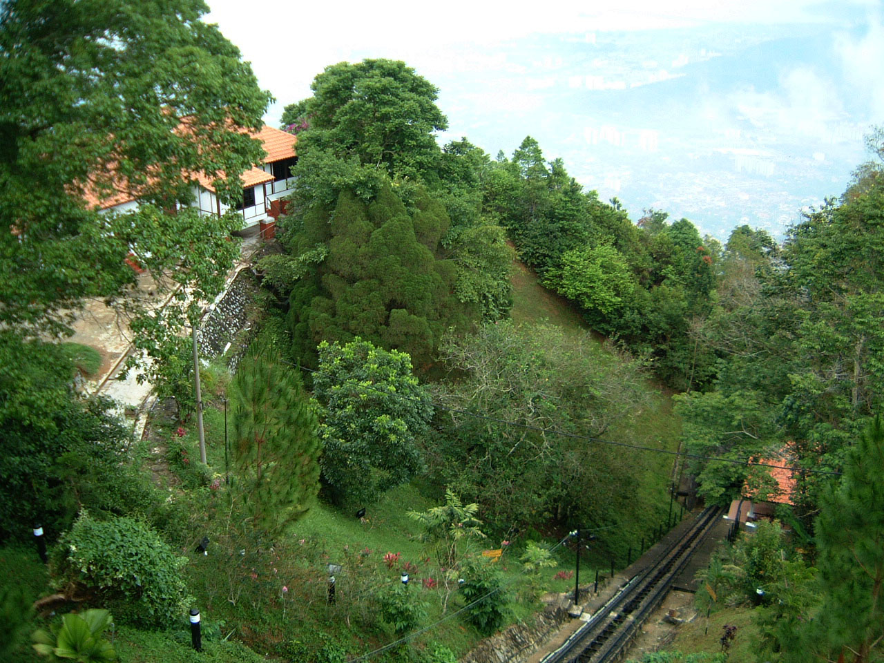 Penang Hill Bukit Bendera Railway Mar 2001 03