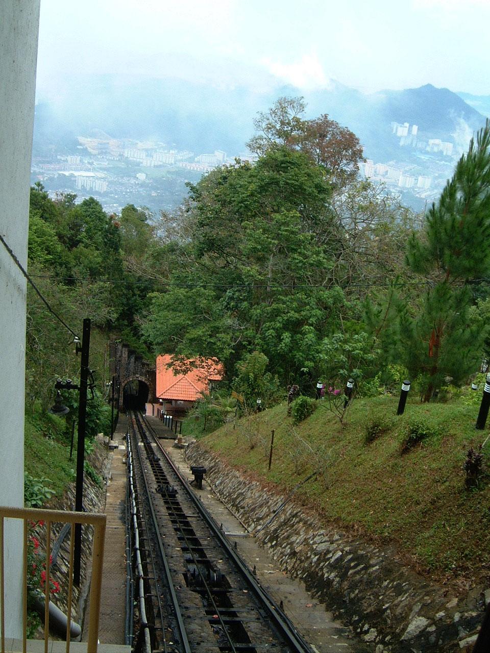 Penang Hill Bukit Bendera Railway Mar 2001 05