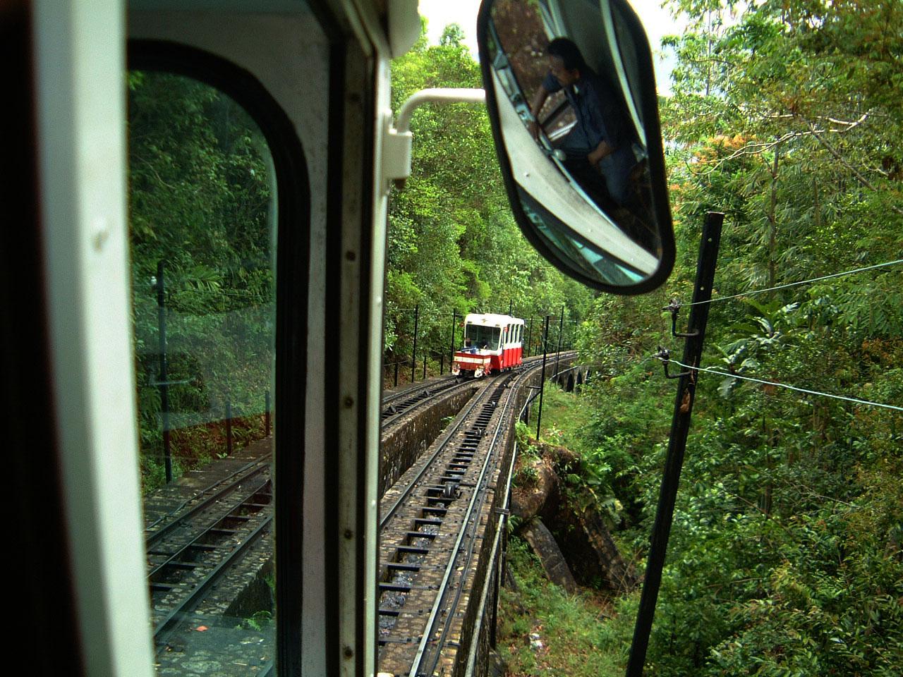 Penang Hill Bukit Bendera Railway Mar 2001 06