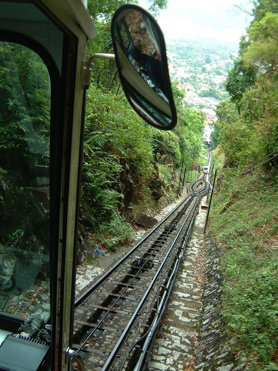 Penang Hill Bukit Bendera Railway Mar 2001 09