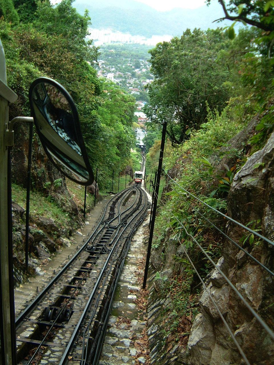 Penang Hill Bukit Bendera Railway Mar 2001 10