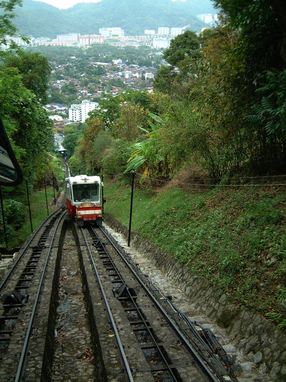 Penang Hill Bukit Bendera Railway Mar 2001 12