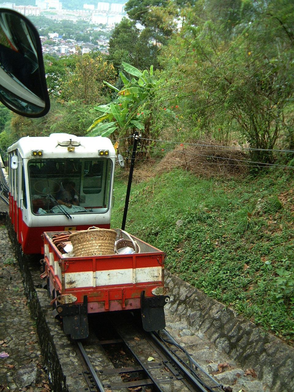 Penang Hill Bukit Bendera Railway Mar 2001 13