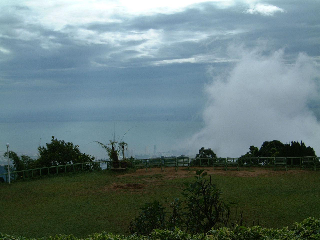 Penang Hill Bukit Bendera hilltop Mar 2001 04