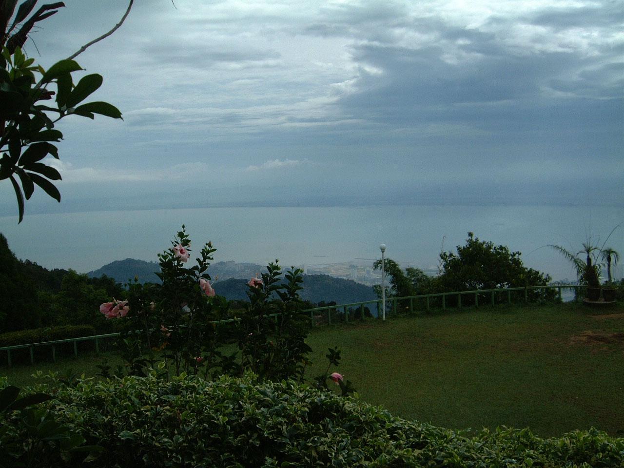 Penang Hill Bukit Bendera hilltop Mar 2001 05