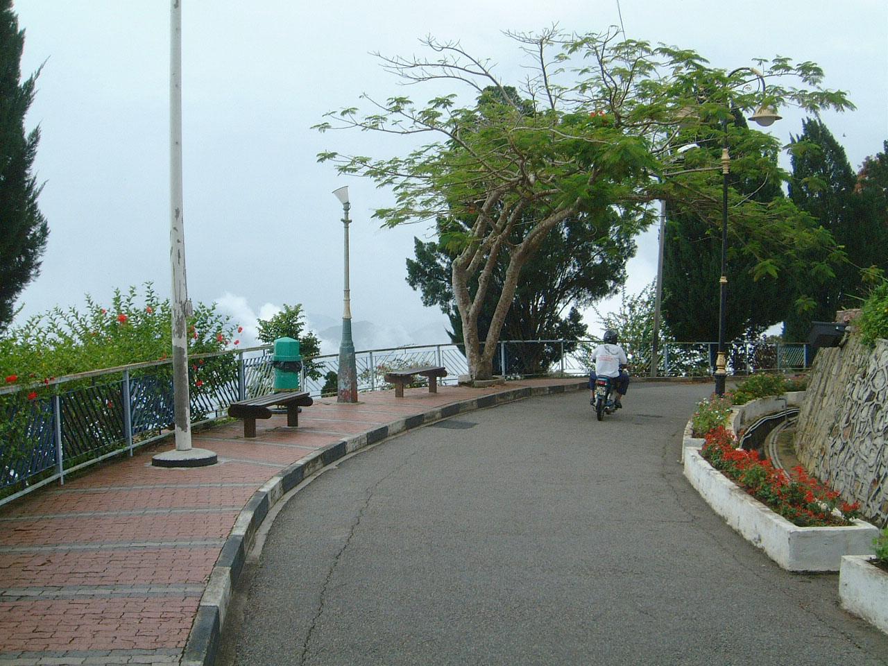 Penang Hill Bukit Bendera hilltop Mar 2001 09