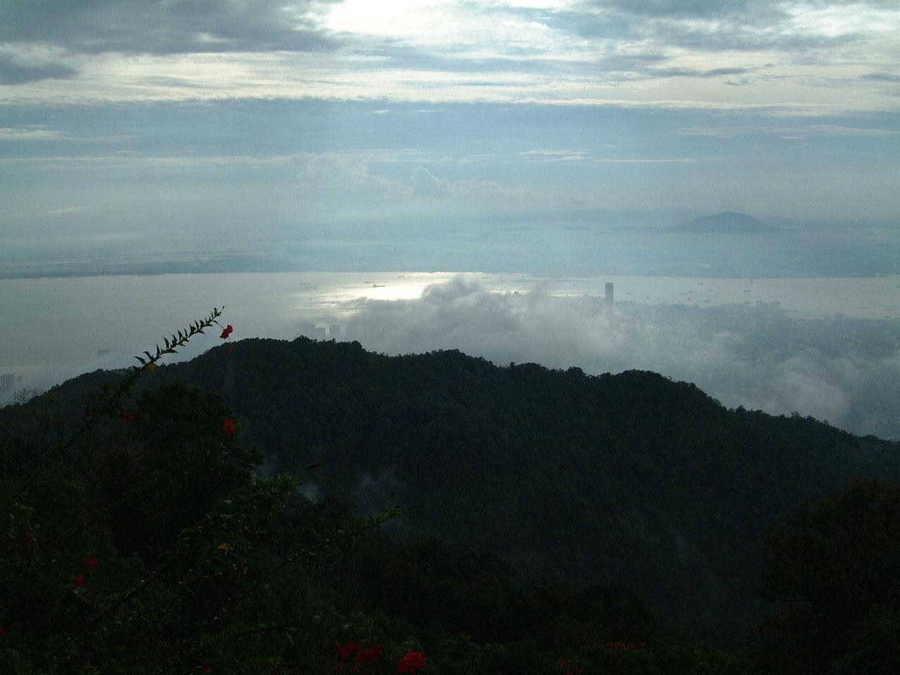 Penang Hill Bukit Bendera panoramic views Mar 2001 03