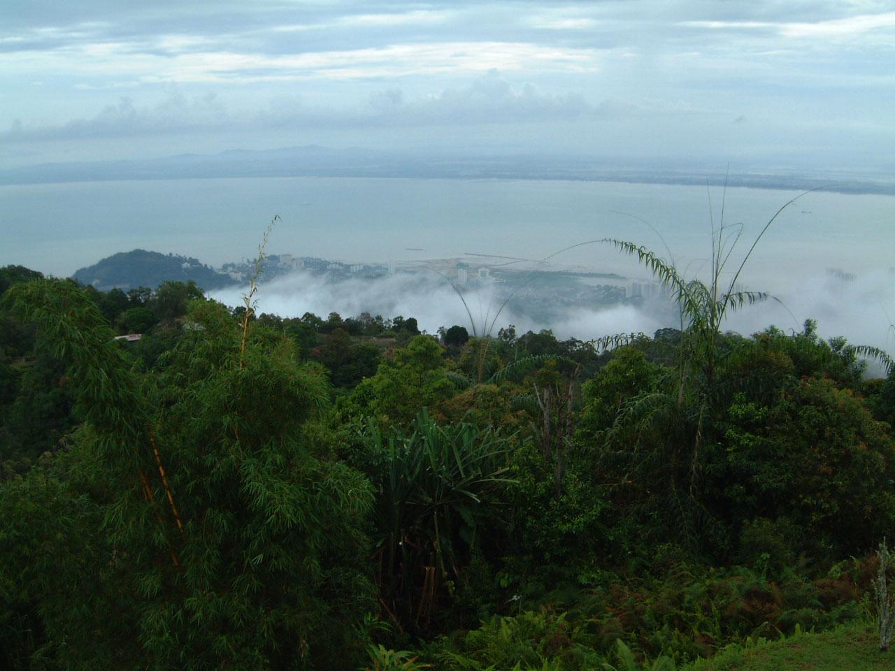 Penang Hill Bukit Bendera panoramic views Mar 2001 09