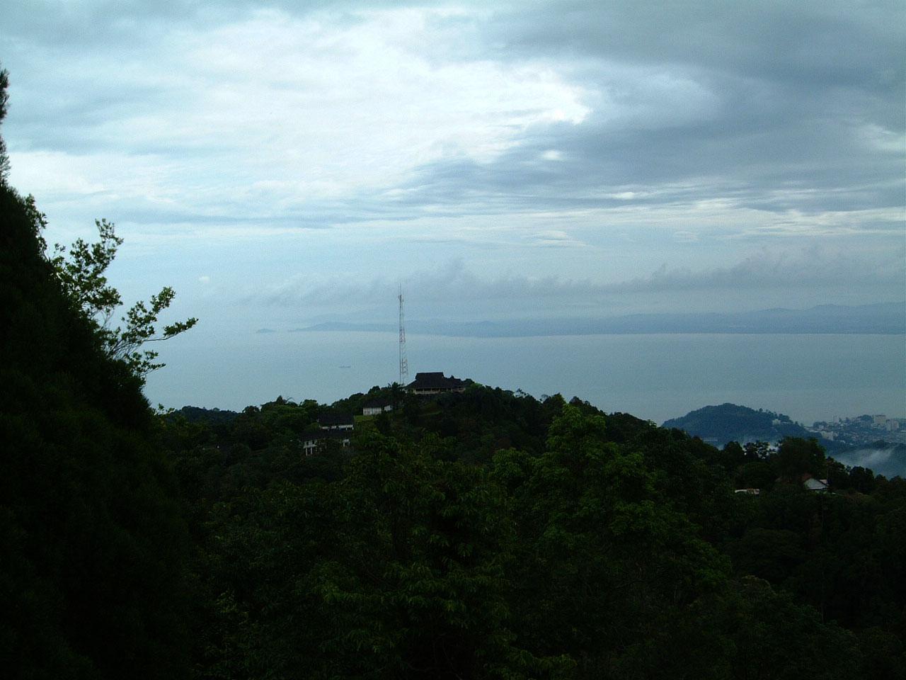 Penang Hill Bukit Bendera panoramic views Mar 2001 12