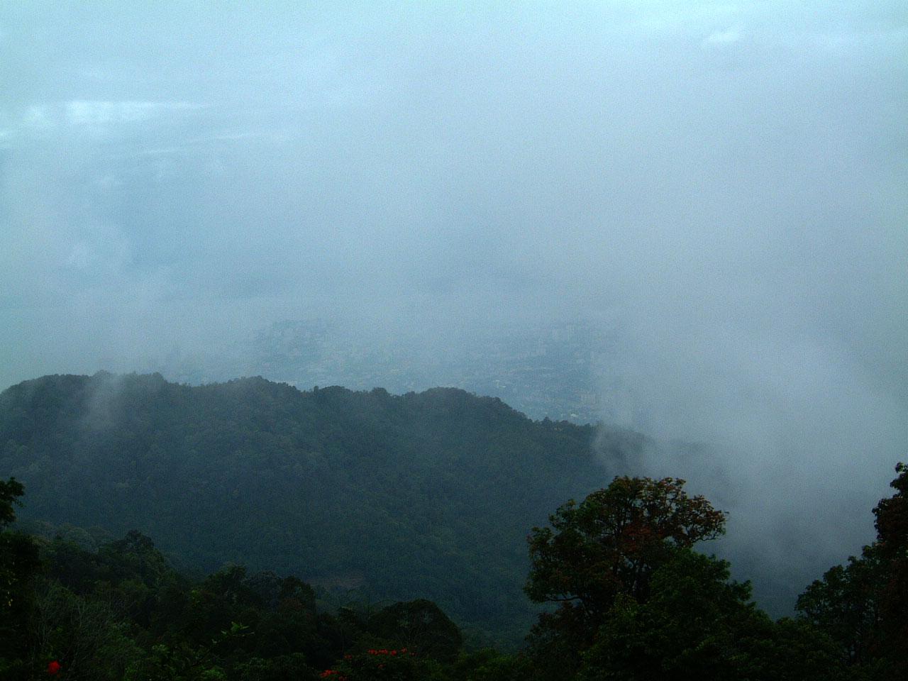 Penang Hill Bukit Bendera panoramic views Mar 2001 17