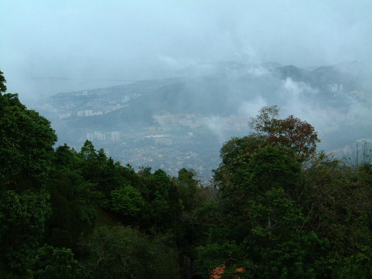Penang Hill Bukit Bendera panoramic views Mar 2001 18