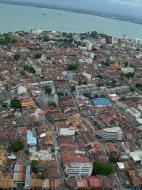 Asisbiz Penang Town center Lookout Mar 2001 06