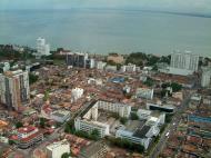 Asisbiz Penang Town center Lookout Mar 2001 08