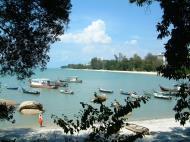 Asisbiz Penang shore line views Mar 2001 17