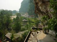 Asisbiz Ipoh Sam Poh Tong Monastery Temple views Jul 2000 01