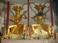 Asisbiz Ipoh San Bao Dong cave Buddhist Guardians Jul 2000 01