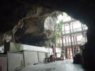 Asisbiz Ipoh San Bao Dong cave Buddhist temple Enterance Jul 2000 02