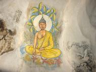 Asisbiz Ipoh San Bao Dong cave Buddhist temple paintings Jul 2000 01
