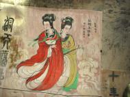 Asisbiz Ipoh San Bao Dong cave Buddhist temple paintings Jul 2000 03
