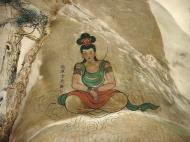 Asisbiz Ipoh San Bao Dong cave Buddhist temple paintings Jul 2000 05