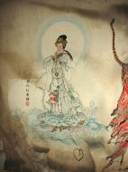 Asisbiz Ipoh San Bao Dong cave Buddhist temple paintings Jul 2000 06