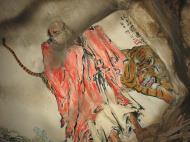Asisbiz Ipoh San Bao Dong cave Buddhist temple paintings Jul 2000 07