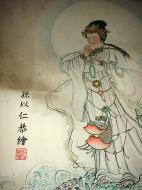 Asisbiz Ipoh San Bao Dong cave Buddhist temple paintings Jul 2000 09