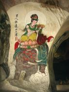 Asisbiz Ipoh San Bao Dong cave Buddhist temple paintings Jul 2000 10