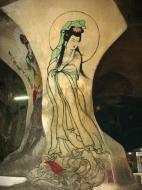 Asisbiz Ipoh San Bao Dong cave Buddhist temple paintings Jul 2000 13