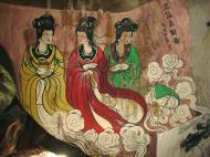 Asisbiz Ipoh San Bao Dong cave Buddhist temple paintings Jul 2000 14