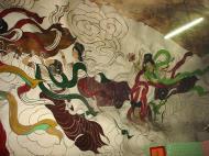 Asisbiz Ipoh San Bao Dong cave Buddhist temple paintings Jul 2000 16