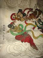 Asisbiz Ipoh San Bao Dong cave Buddhist temple paintings Jul 2000 17